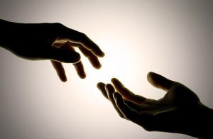 I choose to reach out ...