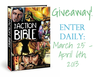 The Action Bible: Review and Giveaway